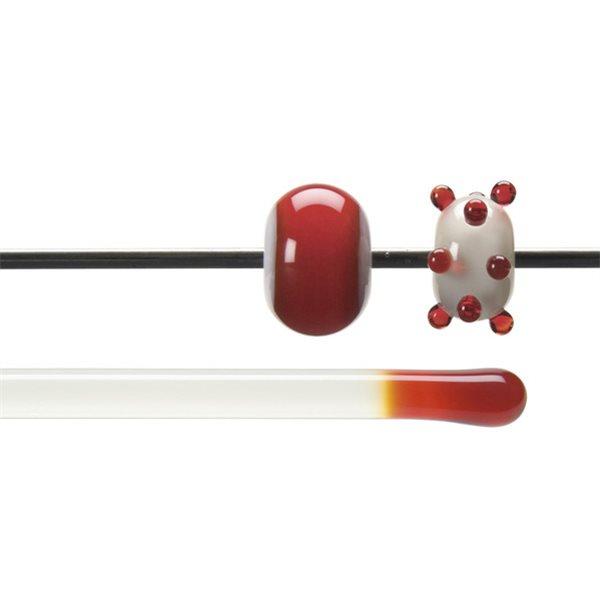 Bullseye Rods - Red - 4-6mm - Transparent