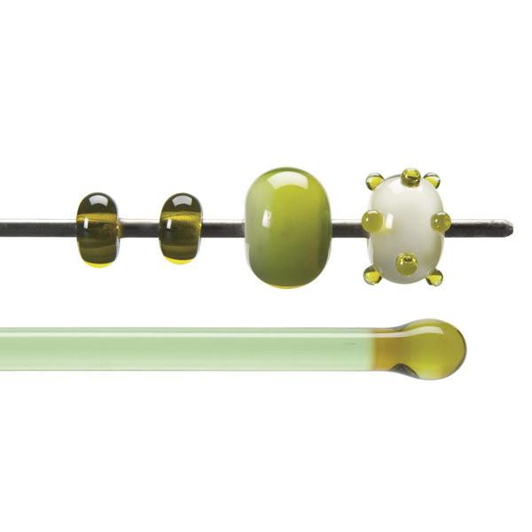 Bullseye Rods - Chartreuse - 4-6mm - Transparent