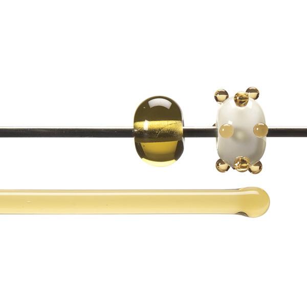 Bullseye Rods - Light Amber - 4-6mm - Transparent