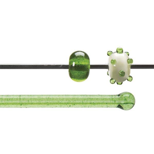 Bullseye Rods - Seaweed Aventurine Tint - 4-6mm - Transparent