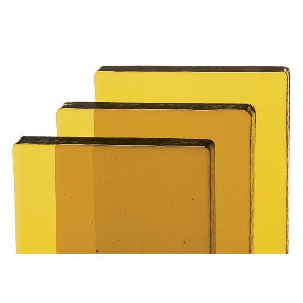 Bullseye Billets - Medium Amber Tint - Transparent
