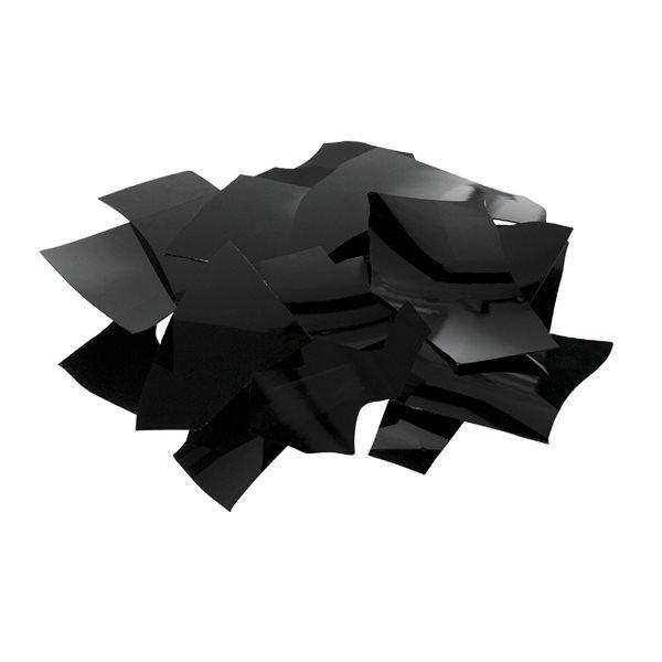 Bullseye Confetti - Black - 450g - Opalescent