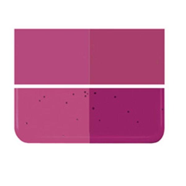 Bullseye Fuchsia - Transparent - 3mm - Fusing Glas Tafeln