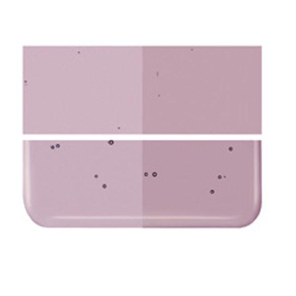 Bullseye Light Violet - Transparent - 2mm - Thin Rolled - Fusing Glas Tafeln
