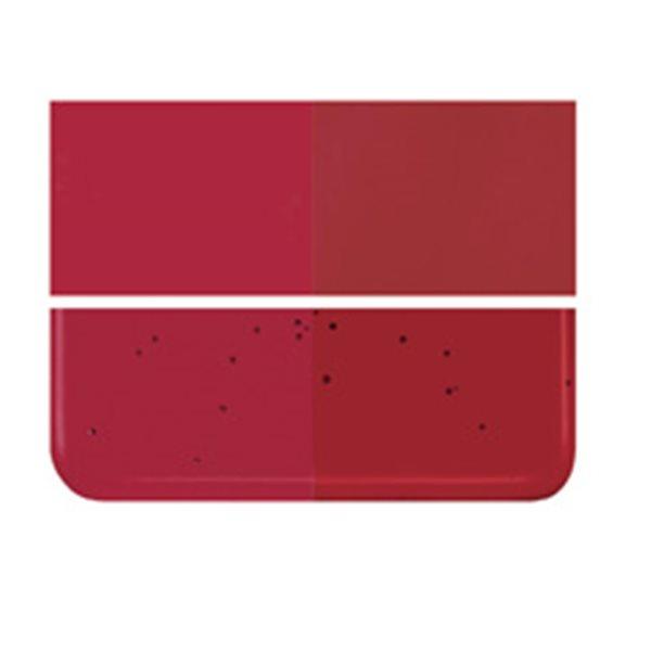 Bullseye Garnet Red - Transparent - 3mm - Fusing Glas Tafeln