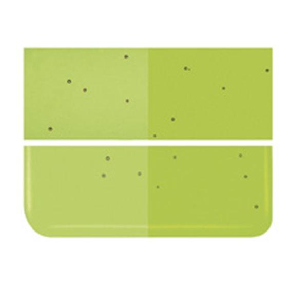 Bullseye Fern Green - Transparent - 3mm - Fusing Glas Tafeln