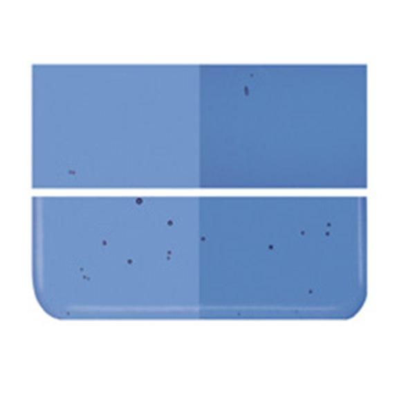 Bullseye True Blue - Transparent - 3mm - Fusing Glas Tafeln