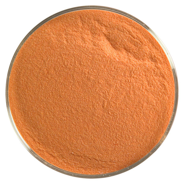 Bullseye Frit - Tomato Red - Powder - 450g - Opalescent