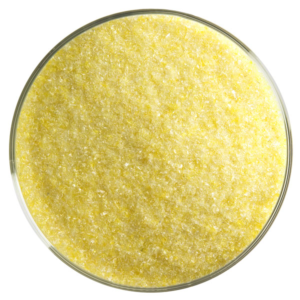 Bullseye Frit - Marigold Yellow - Fine - 450g - Transparent