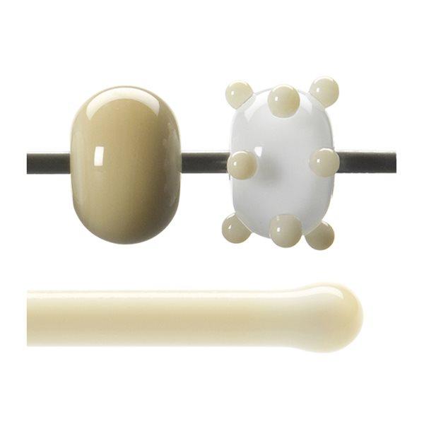 Bullseye Rods - Nougat - 4-6mm - Opalescent