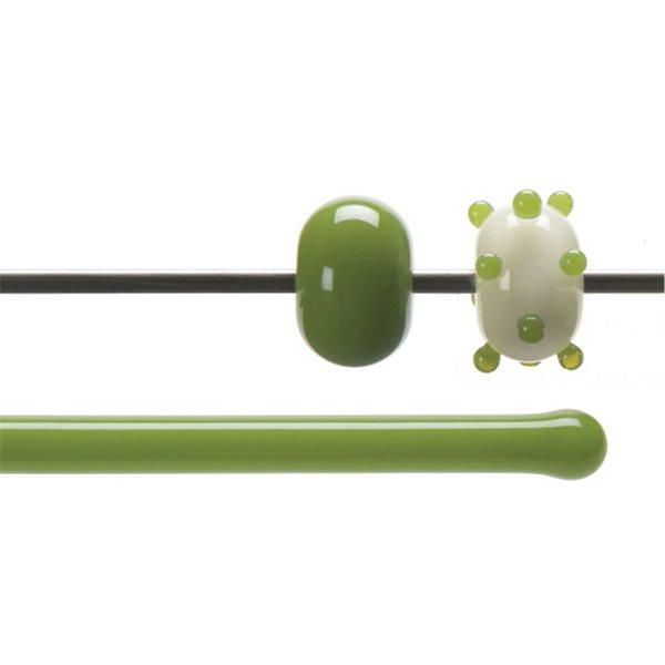 Bullseye Rods - Pea Pod Green - 4-6mm - Opalescent