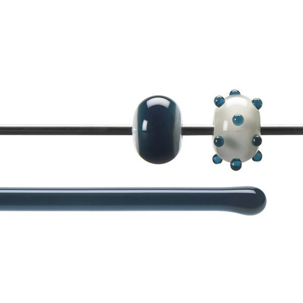 Bullseye Rods - Aquamarine Blue - 4-6mm - Transparent