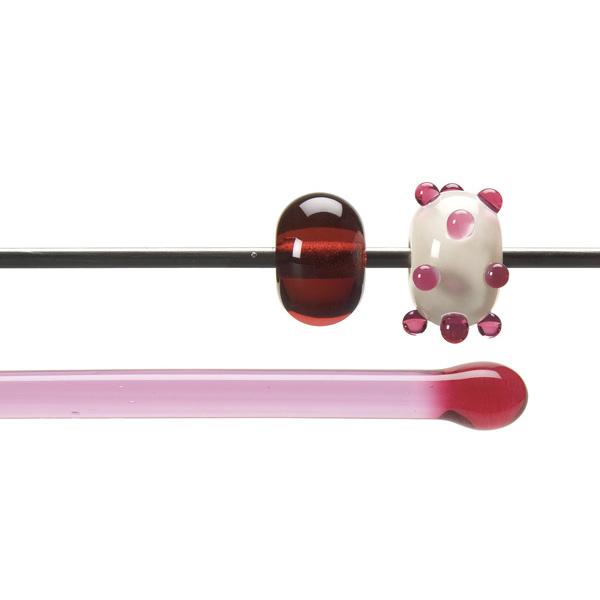 Bullseye Rods - Light Pink Striker - 4-6mm - Transparent