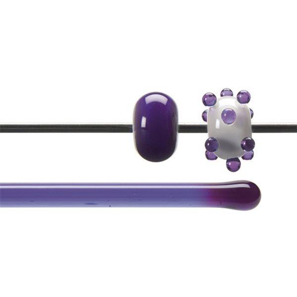 Bullseye Rods - Violet Striker - 4-6mm - Transparent