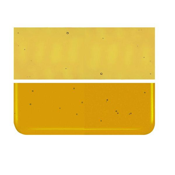 Bullseye Mandarine - Transparent - 3mm - Fusing Glas Tafeln