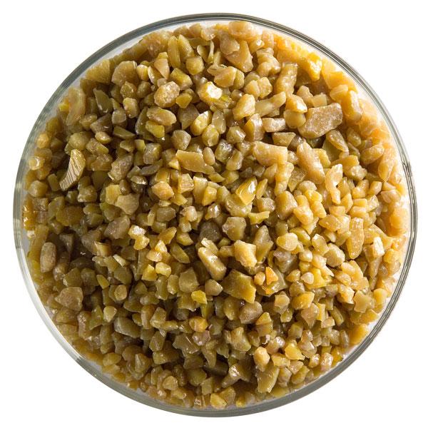Bullseye Frit - Golden Green - Coarse - 2.25kg - Opalescent