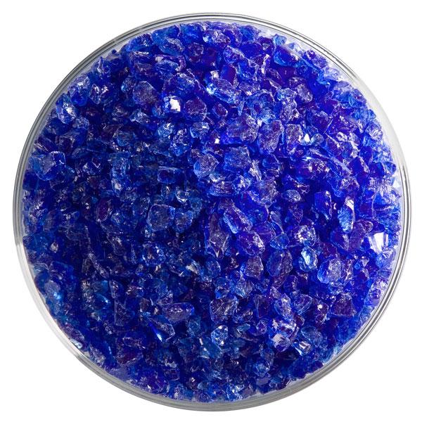 Bullseye Frit - True Blue - Coarse - 450g - Transparent