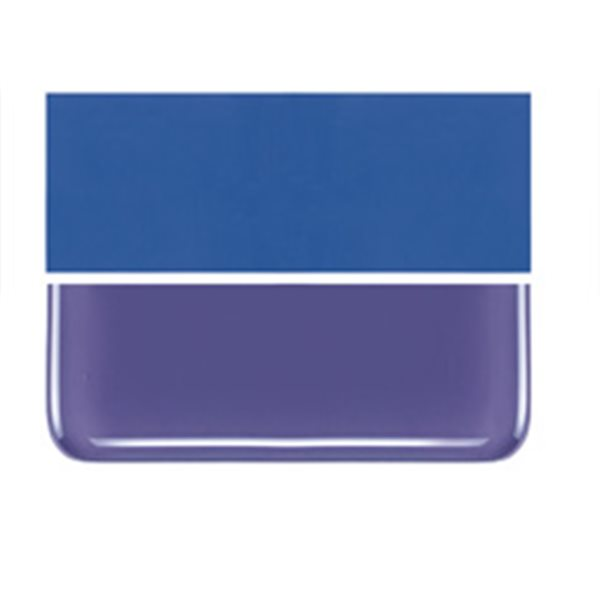 Bullseye Gold Purple - Opalescent - 2mm - Thin Rolled - Fusible Glass Sheets