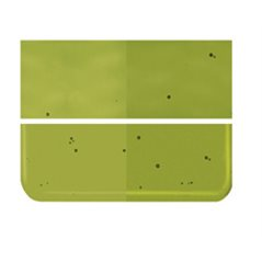 Bullseye Pine Green - Transparent - 2mm - Thin Rolled - Fusing Glas Tafeln