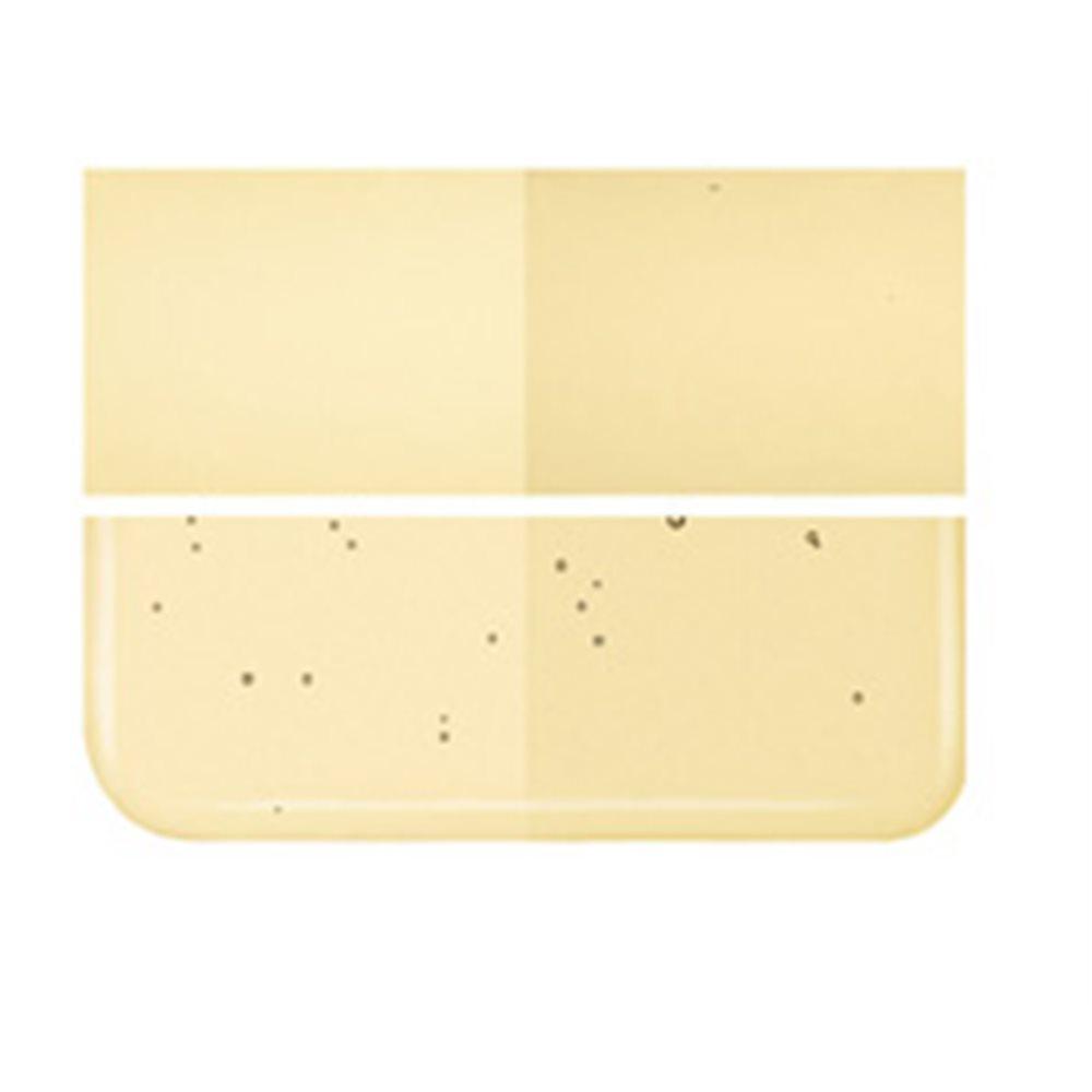 Bullseye Light Amber - Transparent - 2mm - Thin Rolled - Fusing Glas Tafeln
