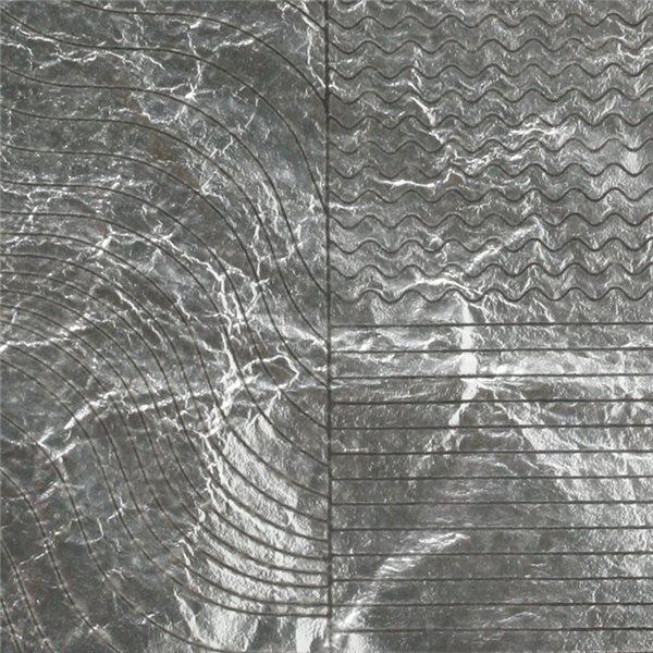 Feuille d`Argent - Wave - 10x10cm