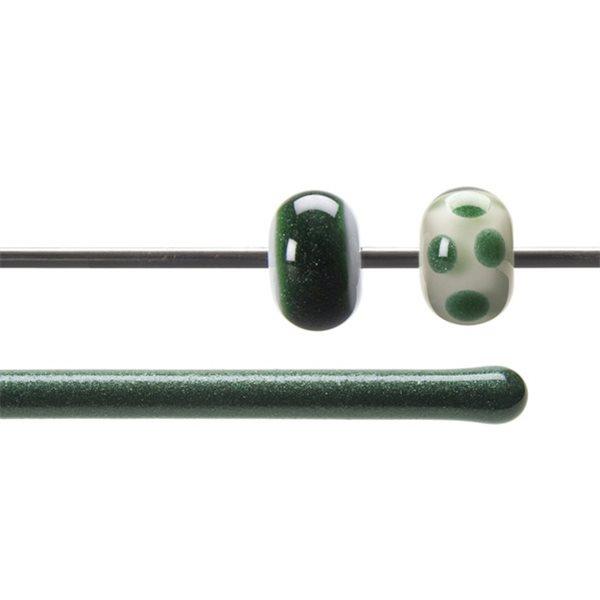 Bullseye Rods - Aventurine Green - 4-6mm - Transparent