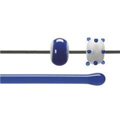 Bullseye Rods - Caribbean Blue - 4-6mm - Transparent