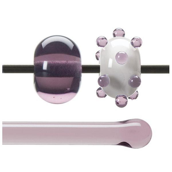 Bullseye Stange - Pale Amethyst - 4-6mm - Transparent