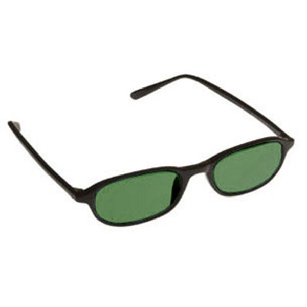 Green Shade Glasses No. 5 - Downtown Black