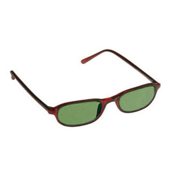 Green Shade Glasses No. 3 - Downtown Burgundy