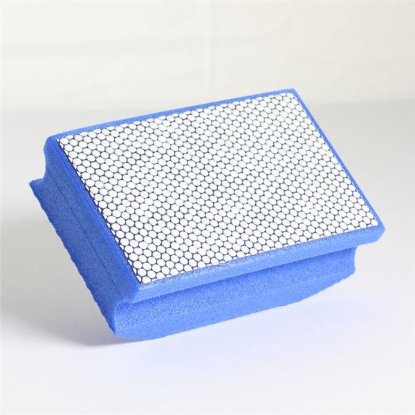 Manchon abrasif diamanté - Bleu - Résine - Grain 1800