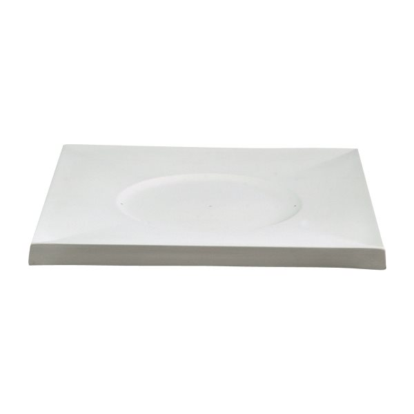 Casablanca - Plate Charger - 36.5x36.5x2.5cm - Base: 21x0.5cm - Fusing Mould