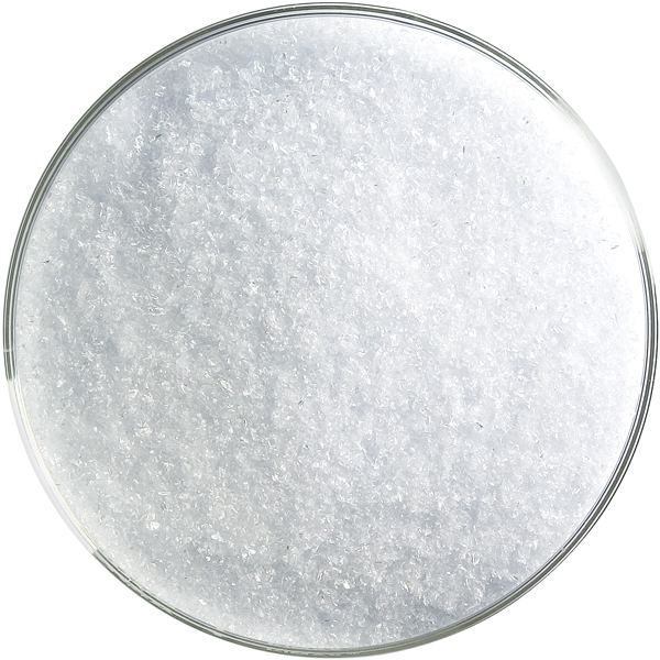 Bullseye Frit - Reactive Ice Clear - Fine - 450g - Transparent