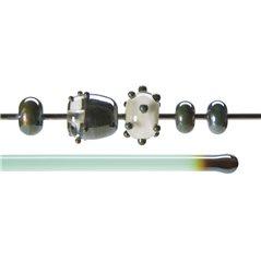Bullseye Rods - Copper Green Lustre - 4-6mm - Transparent