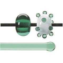 Bullseye Rods - Pale Emerald - 4-6mm - Transparent