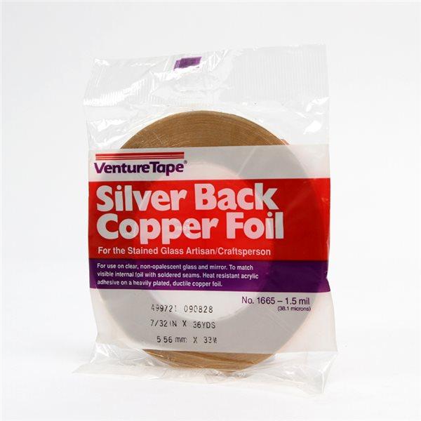 Venture - Silver Back Foil - 7/32 inch
