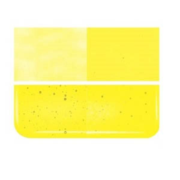 Bullseye Pale Yellow - Transparent - 3mm - Fusing Glas Tafeln