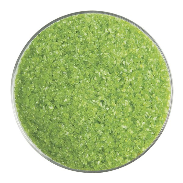 Bullseye Frit - Pea Pod - Medium - 450g - Opalescent