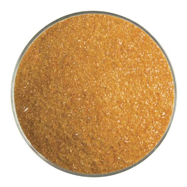 Bullseye Frit - Burnt Orange - Fine - 450g - Opalescent