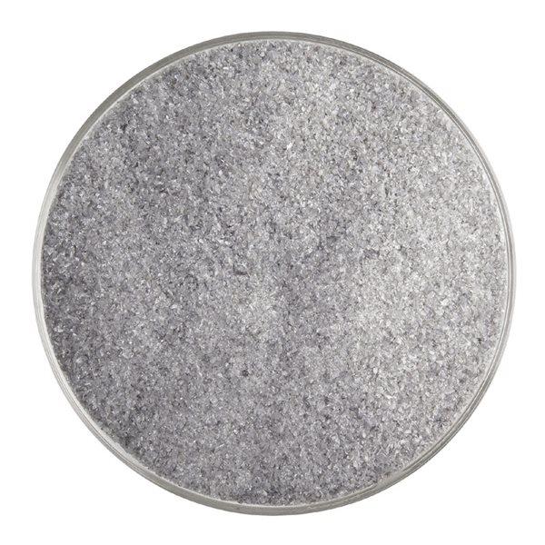 Bullseye Frit - Deep Gray - Fine - 450g - Opalescent