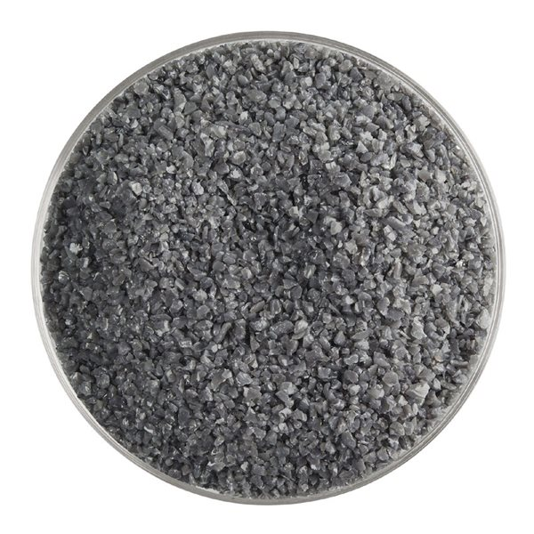 Bullseye Frit - Deep Gray - Medium - 450g - Opalescent
