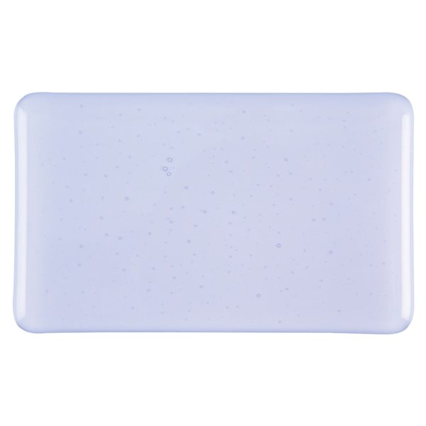 Bullseye Purple Blue - Tint - Transparent - 3mm - Fusible Glass Sheets