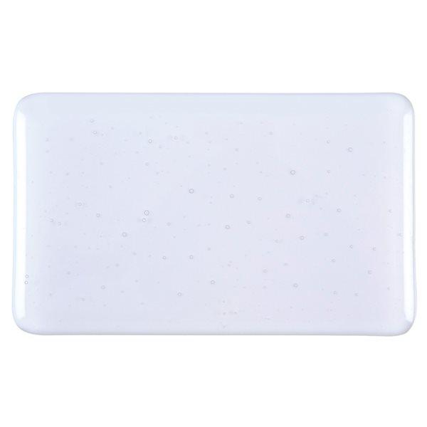 Bullseye Lavender Gray - Tint - Transparent - 3mm - Fusible Glass Sheets