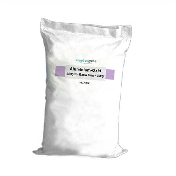 Aluminium-Oxide - 220grit - Extra Fine - 25kg