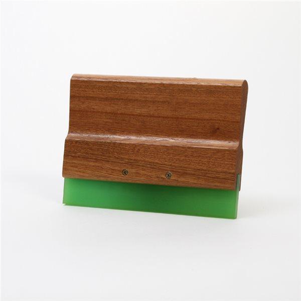 Wood Squeegee Handle & Blade - 20cm