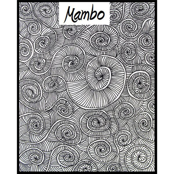 Rubber Stamp Mat - Mambo - 10x12.5cm