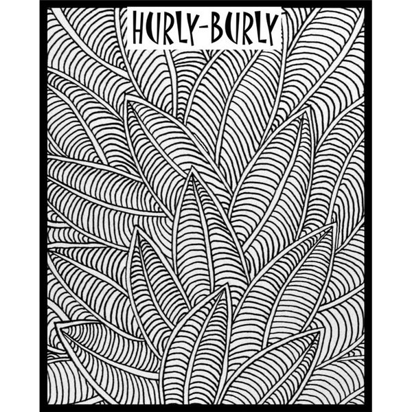 Rubber Stamp Mat - Hurly Burly - 10x12.5cm