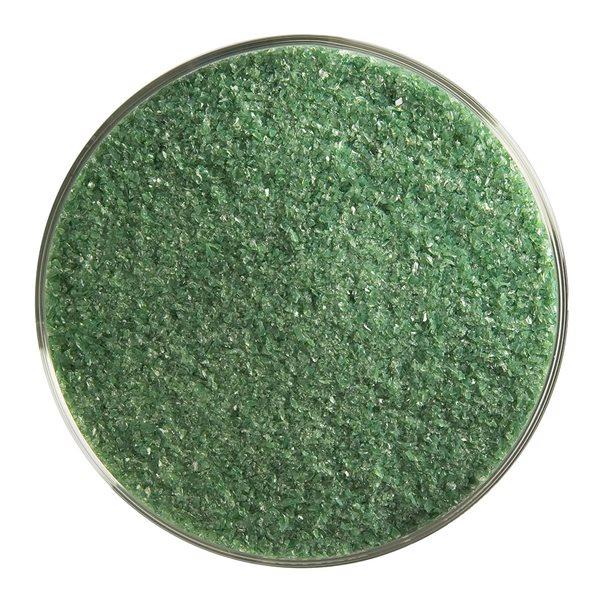 Bullseye Frit - Dark Forest Green - Fine - 450g - Opalescent