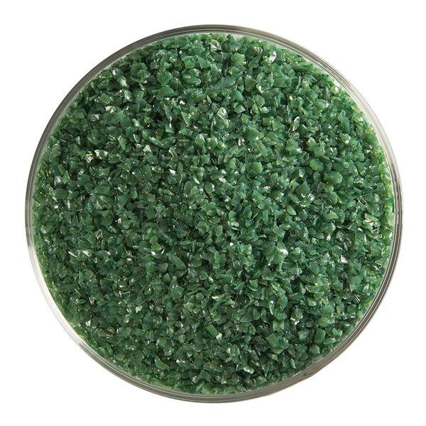 Bullseye Frit - Dark Forest Green - Medium - 450g - Opalescent