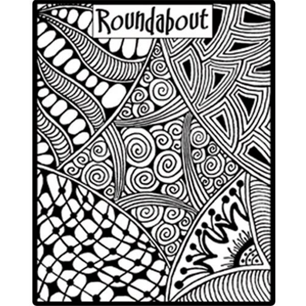Rubber Stamp Mat - Roundabout - 10x12.5cm